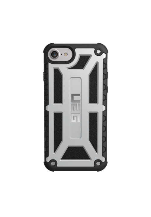 Θήκη για Apple Iphone 7/8/6/6s Uag Monarch Platinum/Black IPH8/7-M-PL