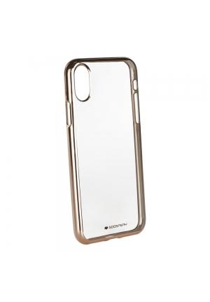 Θήκη για Apple Iphone X Jelly Ring 2 Mercury Gold