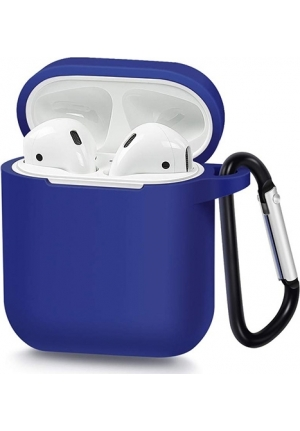 Θηκη για Apple Airpods Senso Silicone Blue SEBPG2BL