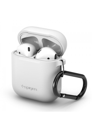 Θηκη για Apple Airpods Spigen White (066CS24809)