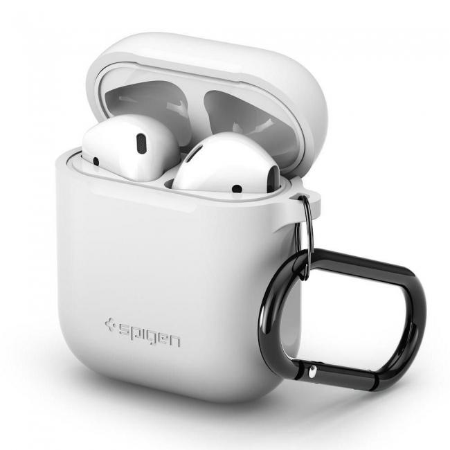 Θηκη για Apple Airpods Spigen White (066CS24809)