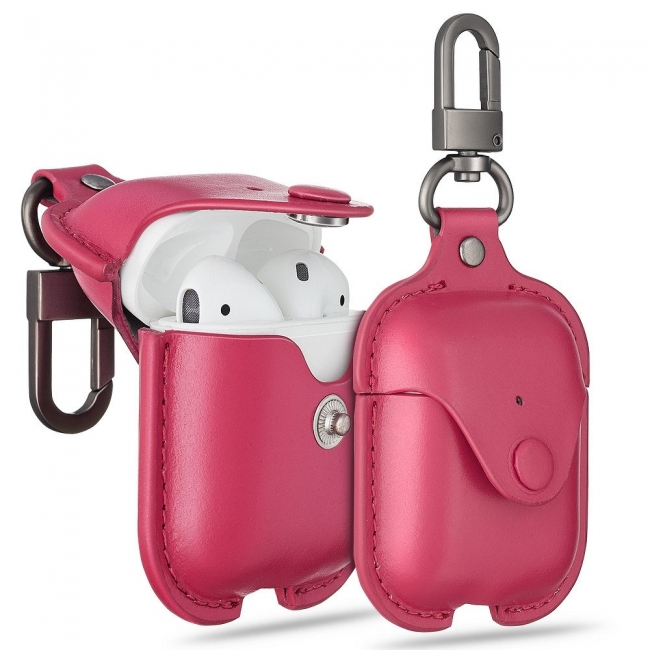 Θηκη για Apple Airpods Esr Oxford Leather Pink
