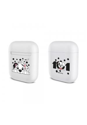 Θηκη για Apple Airpods Silicone Licence Box Dalmatian White 001