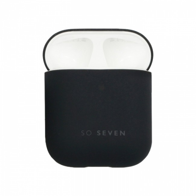 Θηκη για Apple Airpods So Seven Smoothie Black SSAPC0009
