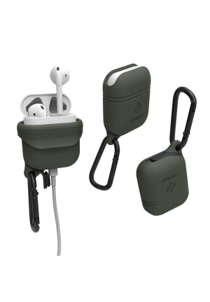 Θηκη για Apple Airpods Catalyst Waterproof Army Green CATAPDGRN