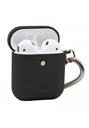 Θηκη για Apple Airpods Puro Eco Biodegradable Black with Hook APCASE1ECO1BLK