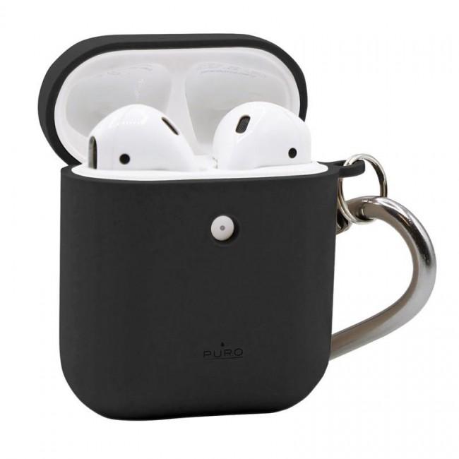 Θηκη για Apple Airpods Puro Eco Biodegradable Black with Hook APCASE1ECO1BLK