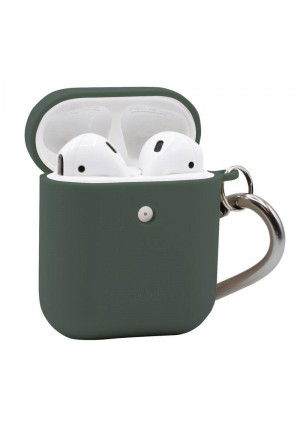 Θηκη για Apple Airpods Puro Eco Biodegradable Light Green with Hook APCASE1ECO1LGRN