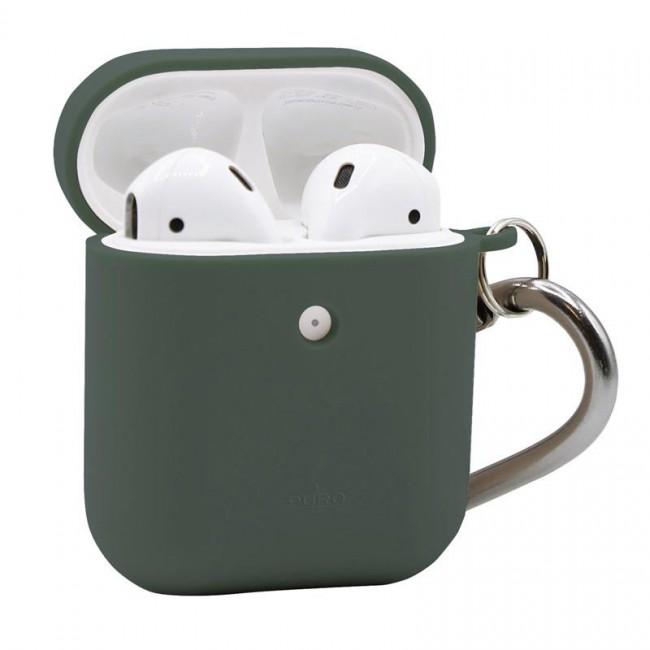 Θηκη για Apple Airpods Puro Eco Biodegradable Light Green with Hook APCASE1ECO1LGRN