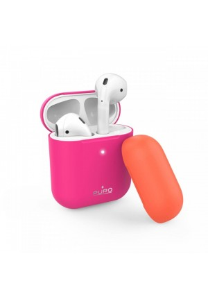 Θηκη για Apple Airpods Puro Icon Fluo Fuchsia APCASE2FLUOFCS
