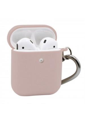 Θηκη για Apple Airpods Puro Eco Biodegradable Rose with Hook APCASE1ECO1ROSE
