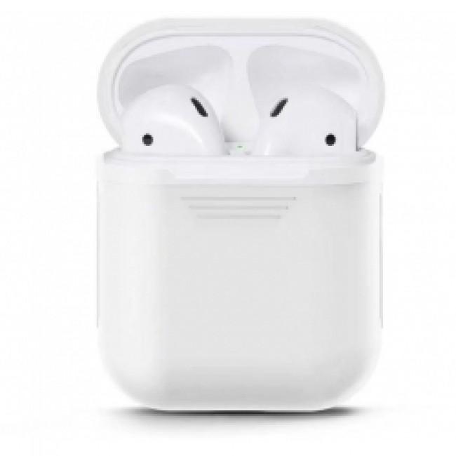 Θηκη για Apple Airpods Senso Silicone White SEBPG2W