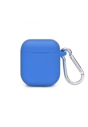 Θηκη για Apple Airpods Senso Silicone with Holder Blue SEBPG2BLH