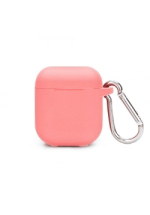 Θηκη για Apple Airpods Senso Silicone with Holder Pink SEBPG2PH