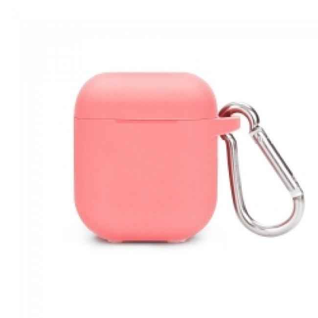 Θηκη για Apple Airpods Senso Silicone with Holder Pink SEBPG2PH