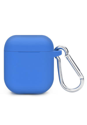 Θηκη για Apple Airpods Silicone Holder Box Blue