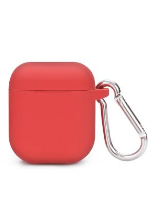 Θηκη για Apple Airpods Silicone Holder Box Red