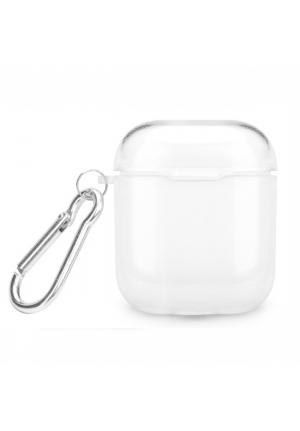 Θηκη για Apple Airpods Silicone Holder Box Clear (5903396031274)