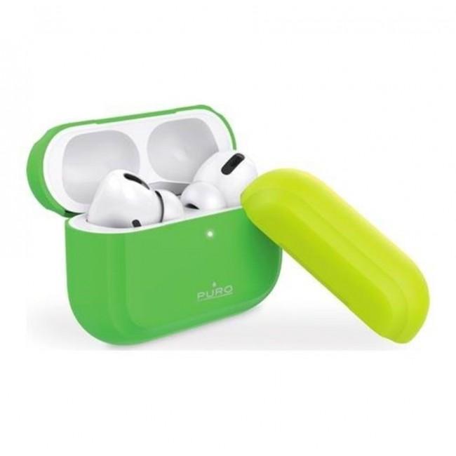 Θηκη για Apple Airpods Pro Puro Icon Fluo Green APPROCASE1FLUOGRN