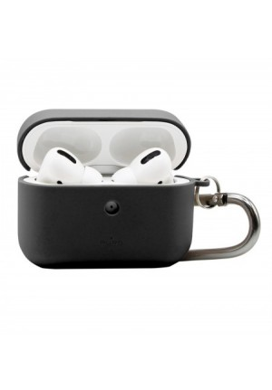 Θηκη για Apple Airpods Pro Puro Eco Biodegradable Black with Hook APPROCASE2ECO1BLK