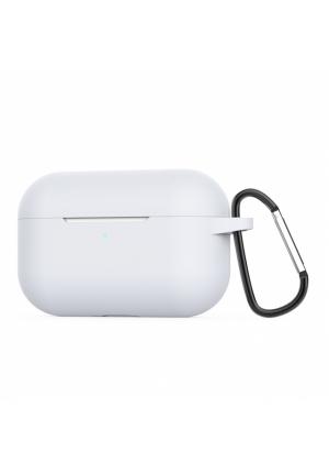 Θηκη για Apple Airpods Pro Senso Silicone Case with Holder White SEBAIRPROW