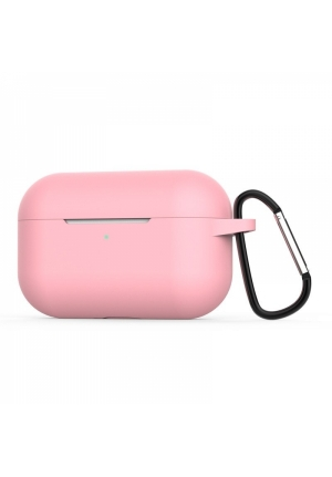 Θηκη για Apple Airpods Pro Senso Silicone Case with Holder Pink SEBAIRPROP