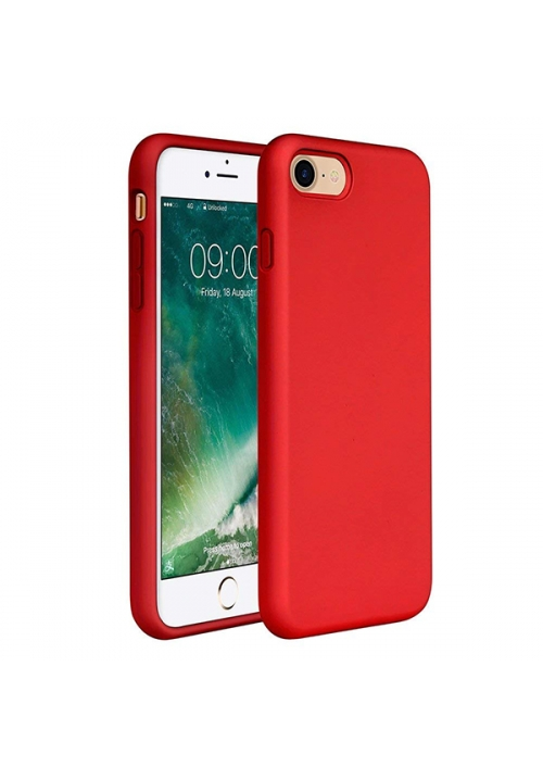 Θήκη για Apple iPhone 7 Plus/8 Plus Tpu Liquid Silicone Red