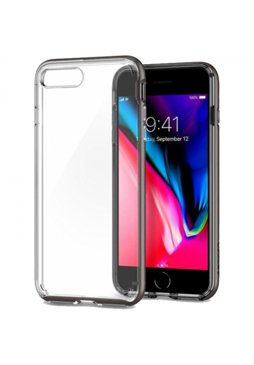 Θήκη για Apple iPhone 7 Plus/8 Plus Spigen Neo Hybrid Crystal 2 Gunmetal (055CS22368)