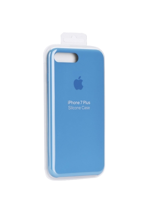 Θήκη για Apple Iphone 7 Plus/8 Plus Silicone Case Light Blue Blister MQOM2ZM Original