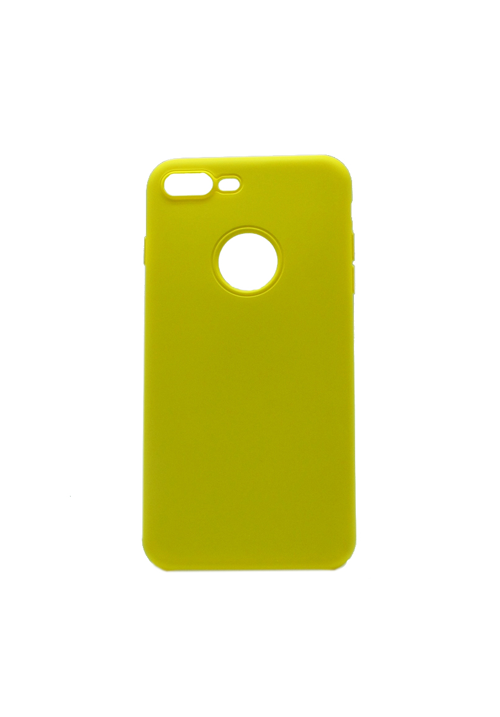 Θήκη για Apple iPhone 7 Plus/8 Plus Soft Touch Yellow OEM