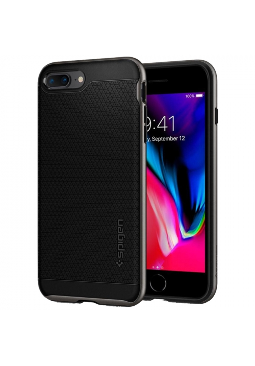 Θήκη για Apple iPhone 7 Plus/8 Plus Spigen Neo Hybrid 2 Gunmetal (055CS22373)