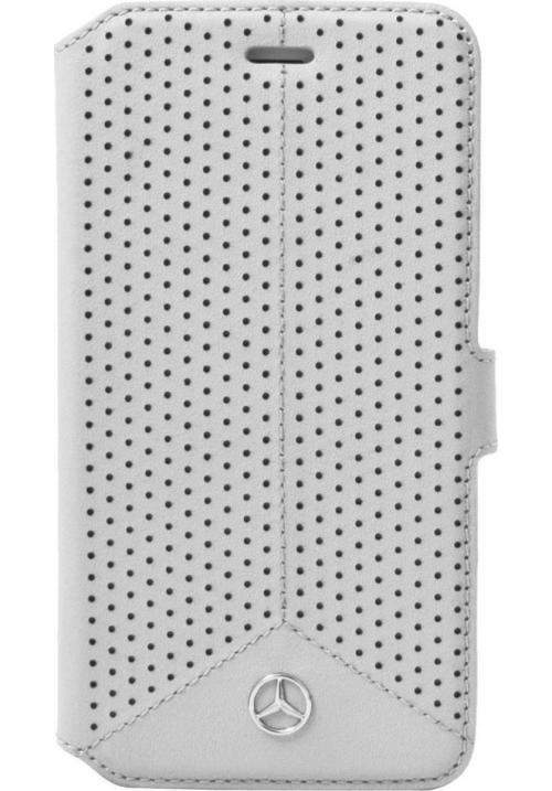 Θήκη για Apple Iphone 6/6s Mercedes Book Case Grey Original MEFLBKP6PEGR
