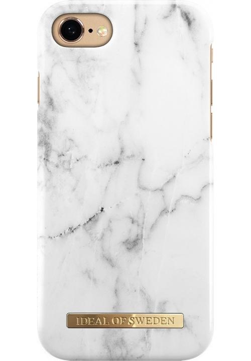 Θηκη για Apple Iphone 6/6S/7/8 Ideal Fashion Marble White IDFCA16-I7-22