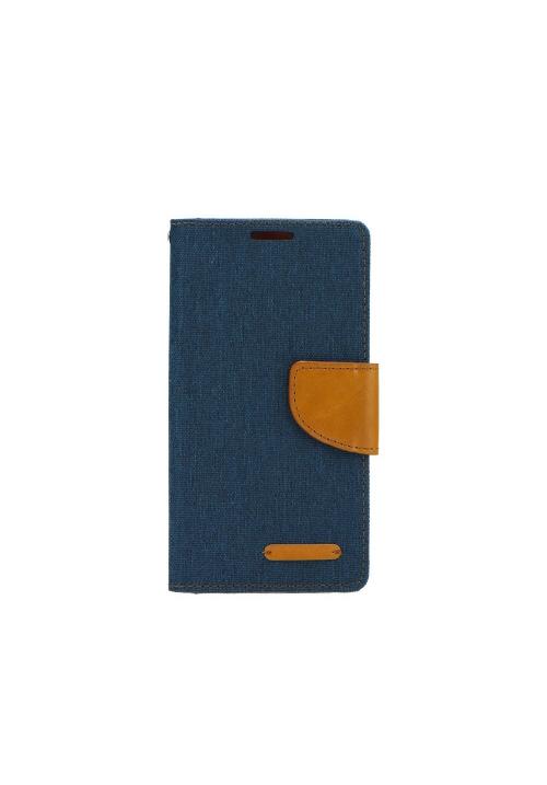 Θήκη για Apple Iphone 6/6s Canvas Book Navy Blue