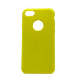 Θήκη για Apple Iphone 7/8 Soft Touch Yellow OEM
