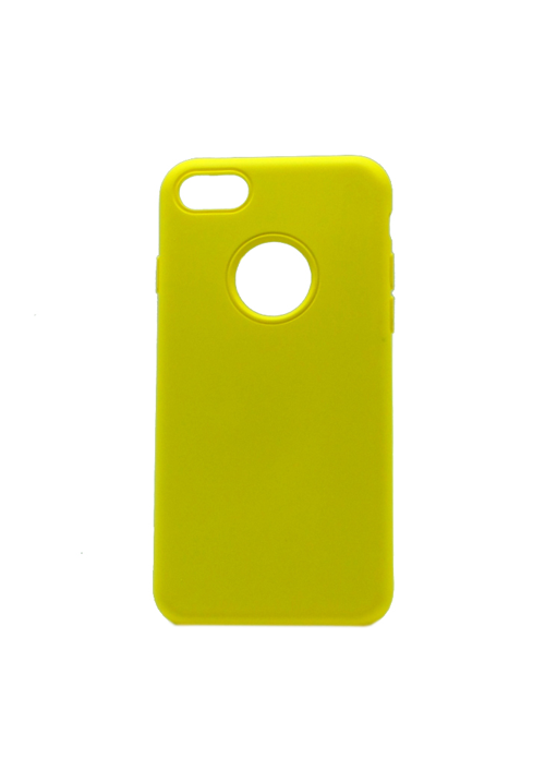 Θήκη για Apple Iphone 7/8 Soft Touch Yellow OEM