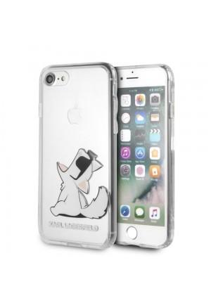 Θήκη για Apple Iphone 7/8 Faceplate Karl Lagerfeld Clear KLHCI8CFNRC