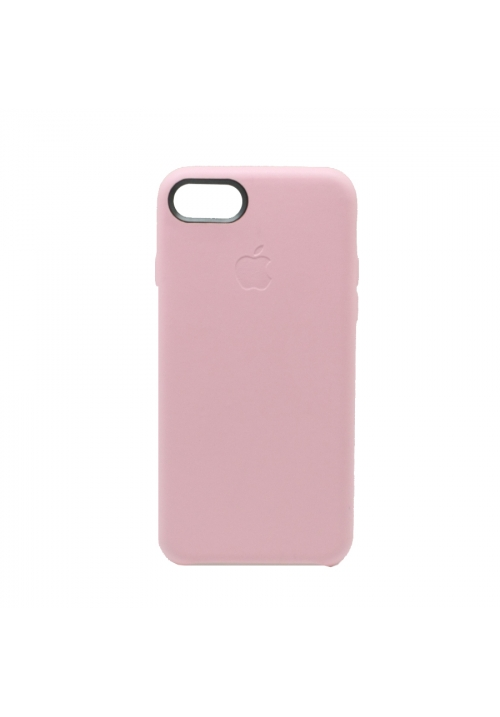 Θήκη για Apple Iphone 7/8 Leather Back Pink OEM