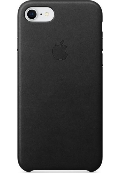 Θήκη για Apple Iphone 7/8 Leather Case Black Blister MQH92ZM/A Original