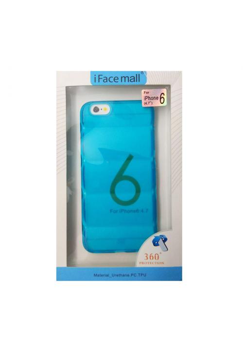 Θήκη για Apple Iphone 6/6S Tpu Facemail Blue