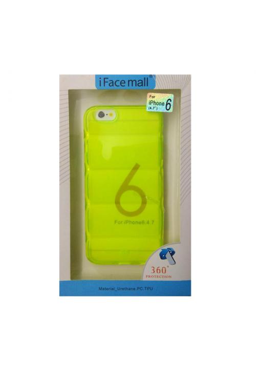 Θήκη για Apple Iphone 6/6S Tpu Facemail Green