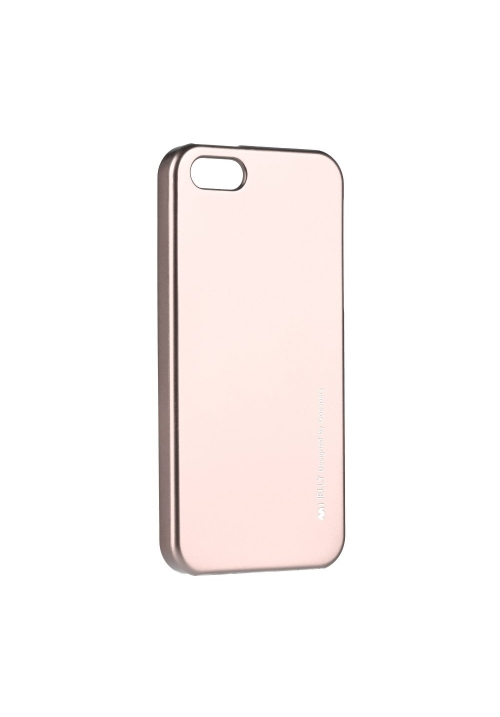 Θήκη για Apple Iphone 5/5s/SE I-Jelly Mercury Rose Gold