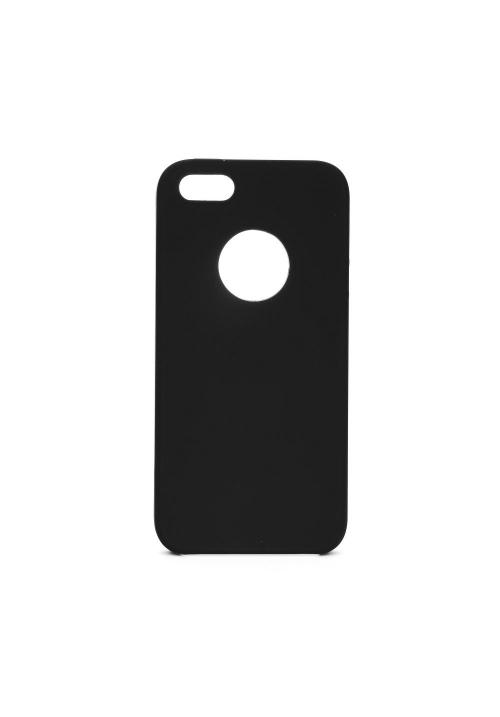 Θήκη για Apple Iphone SE/5/5s Forcell Silicone Black (with hole)