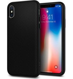 Θήκη για Apple Iphone X Spigen Liquid Air Matte Black