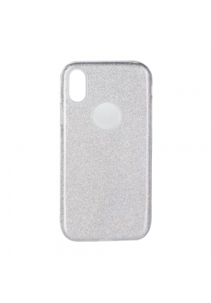 Θήκη για Apple Iphone X Forcell Shining Silver