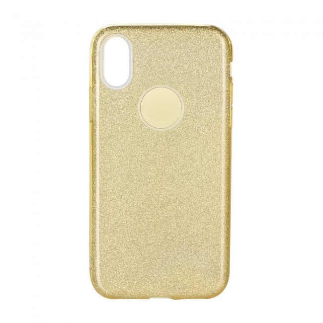 Θήκη για Apple Iphone X Forcell Shining Gold