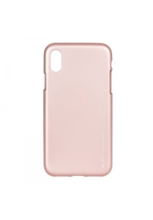 Θήκη για Apple Iphone X / XS I-Jelly Mercury Rose Gold