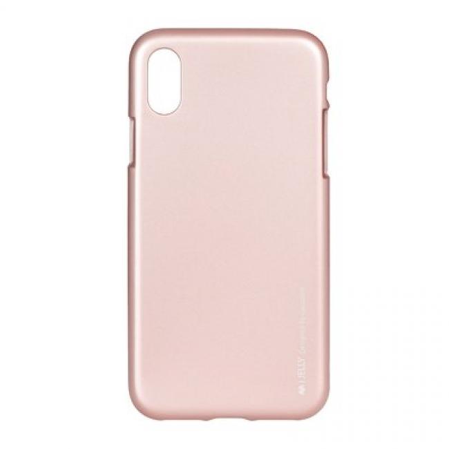 Θήκη για Apple Iphone X / XS I-Jelly Mercury Rose Gold