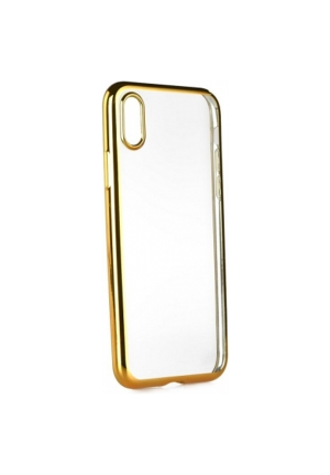 Θήκη για Apple Iphone X Tpu Electro Jelly Gold
