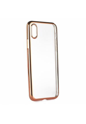 Θήκη για Apple Iphone X Tpu Electro Jelly Rose Gold